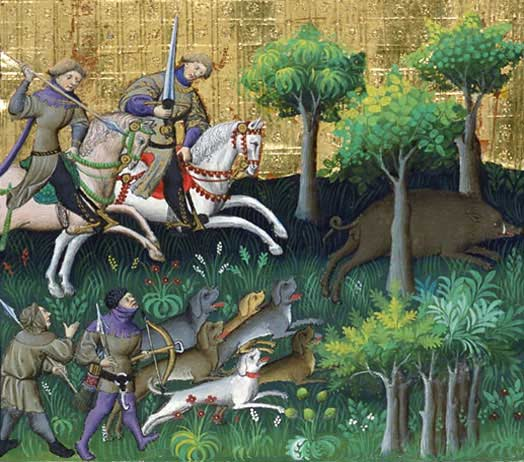 Medieval chasse